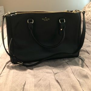 perfect Kate spade black tote
